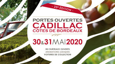 Portes ouvertes Cadillac Côtes de Bordeaux 2020
